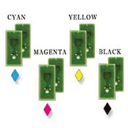 Refill Chip Set CMYK
