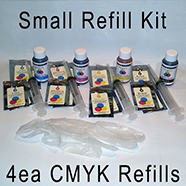 Small Refill Kit for LX900 and DP4100 compatible printer cartridges