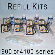 Refill Kit for LX900 and DP4100 compatible printer cartridges